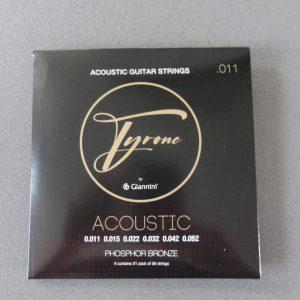 Tyrone Steel String Ac.Custom Light 011-052 Phosph.Bronze 1