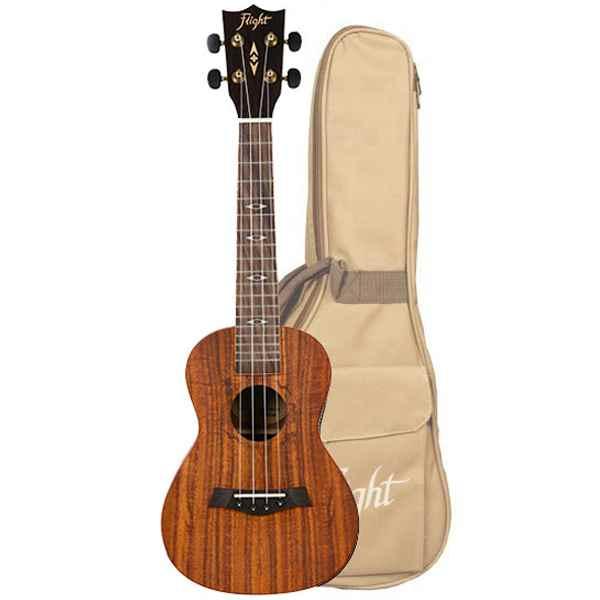 Flight ukulele DUS 440 KOA