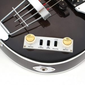 Hofner Beatles bass (violin bass) black