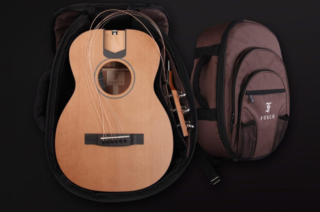 "Furch LJ 10-CM ""Little Jane"" Travel Guitar, inkl. Backpack 1"